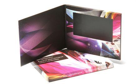 10.1 inch screen Video Brochure unique hot sex mp4 hd video brochure