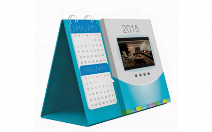 5 inch HD screen Video Calendar pc video card